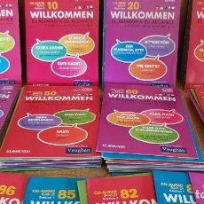 Livros: WILLKOMMEN / EL ALEMÁN A SU ALCANCE / A FALTA DEL Nº 1 / TOTAL 87 CDS DE LUJO./ SUPER OCASIÓN !!. Lote 153451166