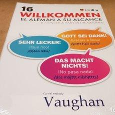 Libros: VAUGHAN / WILLKOMMEN - EL ALEMÁN A SU ALCANCE / VOL. 16 + CD / PRECINTADO.. Lote 172691744
