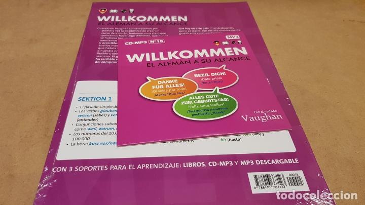 Libros: VAUGHAN / WILLKOMMEN - EL ALEMÁN A SU ALCANCE / VOL. 15 + CD / PRECINTADO. - Foto 2 - 177298345