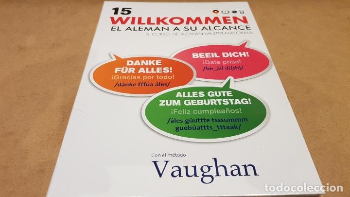 VAUGHAN / WILLKOMMEN - EL ALEMÁN A SU ALCANCE / VOL. 15 + CD / PRECINTADO. (Libros Nuevos - Idiomas - Alemán )