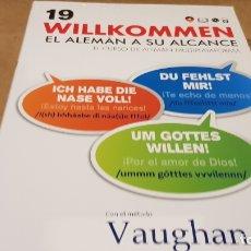 Libros: VAUGHAN / WILLKOMMEN - EL ALEMÁN A SU ALCANCE / VOL. 19 + CD / PRECINTADO.. Lote 177298452