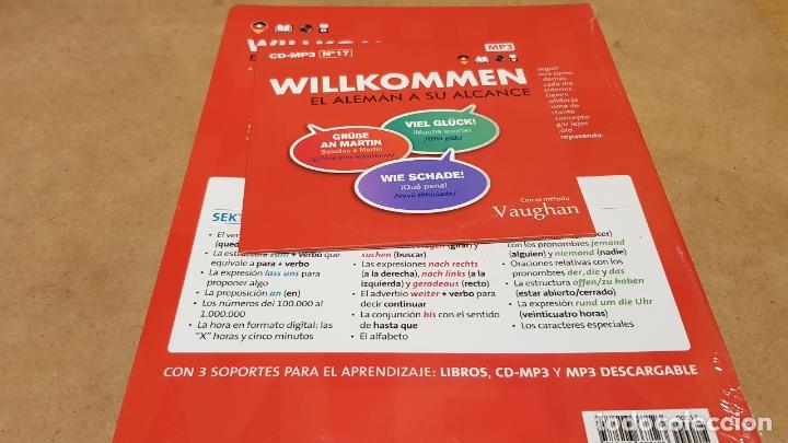 Libros: VAUGHAN / WILLKOMMEN - EL ALEMÁN A SU ALCANCE / VOL. 17 + CD / PRECINTADO. - Foto 2 - 177298504