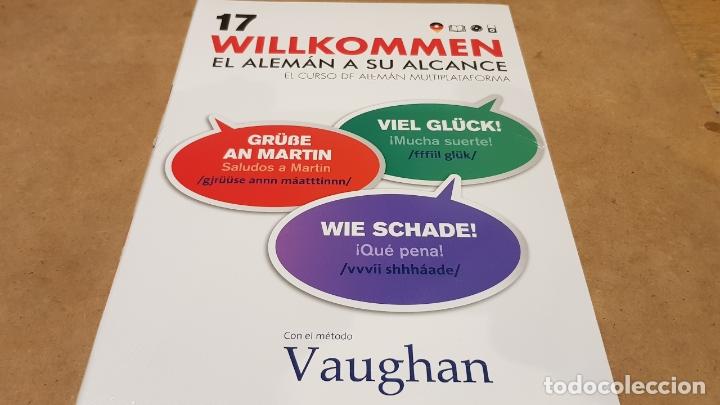 VAUGHAN / WILLKOMMEN - EL ALEMÁN A SU ALCANCE / VOL. 17 + CD / PRECINTADO. (Libros Nuevos - Idiomas - Alemán )