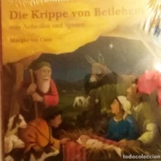 Livres: DIE KRIPPE VON BETLEHEM CD. Lote 183367381
