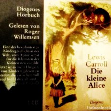 Livres: DIE KLEINE ALICE LEWIS CARROLL CD . Lote 183315355