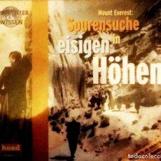 Libros: MOUNT EVEREST SPURENSUCHE IN EISIGEN HÖHEN DVD . Lote 183316530