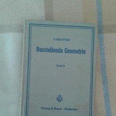 Libros: DARSTELLENDE GEOMETRIE 1964 G.BRAUN. Lote 188478593