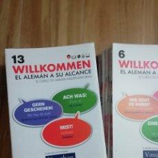 Libros: LOTE CURSO DE ALEMAN. Lote 189462286