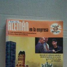 Libros: 30116 - ALEMAN EN LA EMPRESA - AUTO APRENDIZAJE - EDITORIAL DIFUSION - AÑO 2003 - NO INCLUYE CD. Lote 189720372