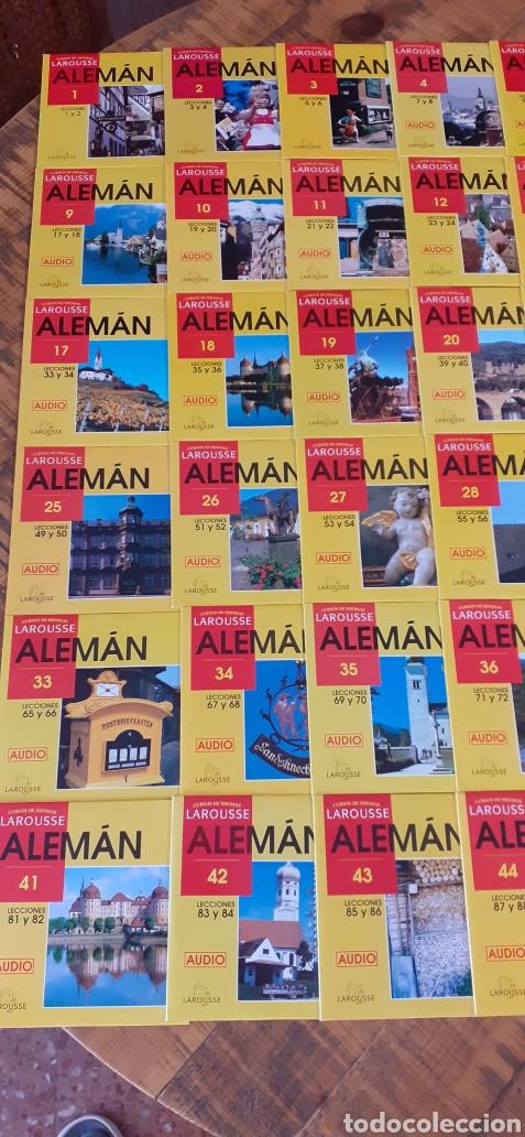 Libros: LAROUSSE- CURSO DE IDIOMA ALEMÁN - 49 CASETTE - 48 CD - AÑOS 90 - Foto 4 - 193628343