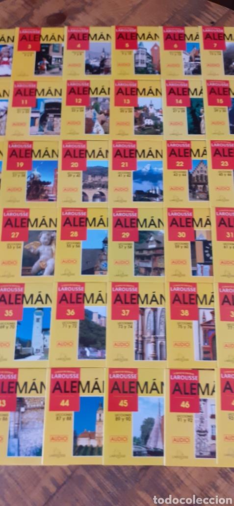 Libros: LAROUSSE- CURSO DE IDIOMA ALEMÁN - 49 CASETTE - 48 CD - AÑOS 90 - Foto 5 - 193628343
