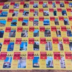 Libros: LAROUSSE- CURSO DE IDIOMA ALEMÁN - 49 CASETTE - 48 CD - AÑOS 90. Lote 193628343