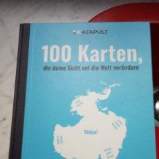 Libros: 100 KARTEN, DIE DEINE SICHT AUF DIE WELT VERÄNDERN. Lote 198953167