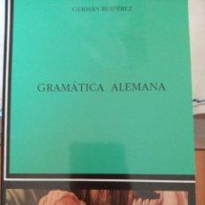 Libros: GRAMÁTICA ALEMANA. Lote 214618087