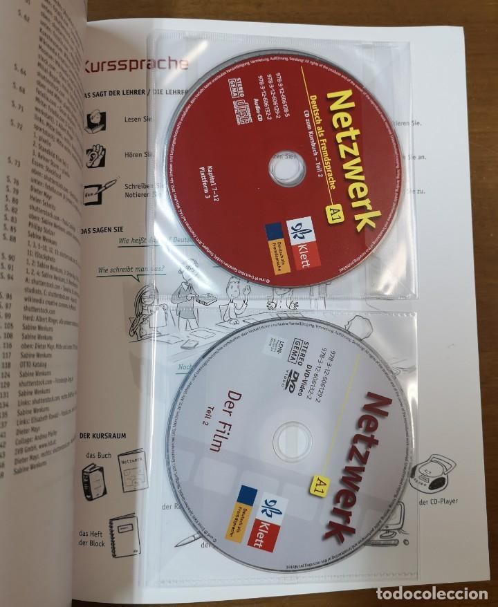 Libros: Netzwerk A1. Deutsch Als Fremdsprache (Ejercicios + CD + DVD) - Volumen 2 - Foto 3 - 218400423