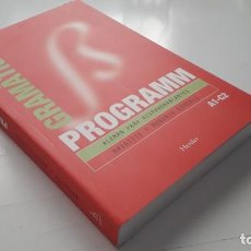 Libros: PROGRAMM GRAMÁTICA: ALEMÁN PARA HISPANOHABLANTES. Lote 218402607
