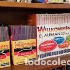 Libros: COLECCION ALEMAN WILKOMMEN. Lote 219969920