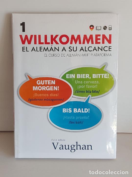 VAUGHAN / WILLKOMMEN - EL ALEMÁN A SU ALCANCE / 1 / LIBRO + CD / PRECINTADO. (Libros Nuevos - Idiomas - Alemán )