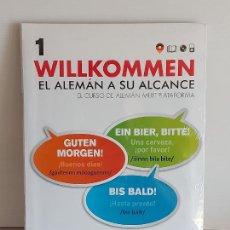 Libros: VAUGHAN / WILLKOMMEN - EL ALEMÁN A SU ALCANCE / 1 / LIBRO + CD / PRECINTADO.. Lote 228556710