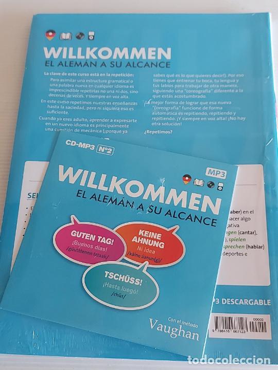 Libros: VAUGHAN / WILLKOMMEN - EL ALEMÁN A SU ALCANCE / 2 / LIBRO + CD / PRECINTADO. - Foto 2 - 228559740