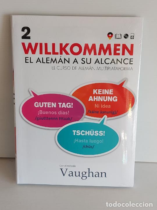 VAUGHAN / WILLKOMMEN - EL ALEMÁN A SU ALCANCE / 2 / LIBRO + CD / PRECINTADO. (Libros Nuevos - Idiomas - Alemán )