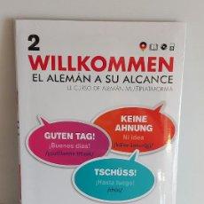 Libros: VAUGHAN / WILLKOMMEN - EL ALEMÁN A SU ALCANCE / 2 / LIBRO + CD / PRECINTADO.. Lote 228559740
