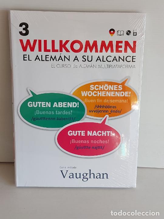 VAUGHAN / WILLKOMMEN - EL ALEMÁN A SU ALCANCE / 3 / LIBRO + CD / PRECINTADO. (Libros Nuevos - Idiomas - Alemán )
