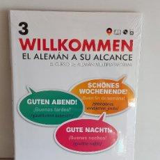 Libros: VAUGHAN / WILLKOMMEN - EL ALEMÁN A SU ALCANCE / 3 / LIBRO + CD / PRECINTADO.. Lote 228559965