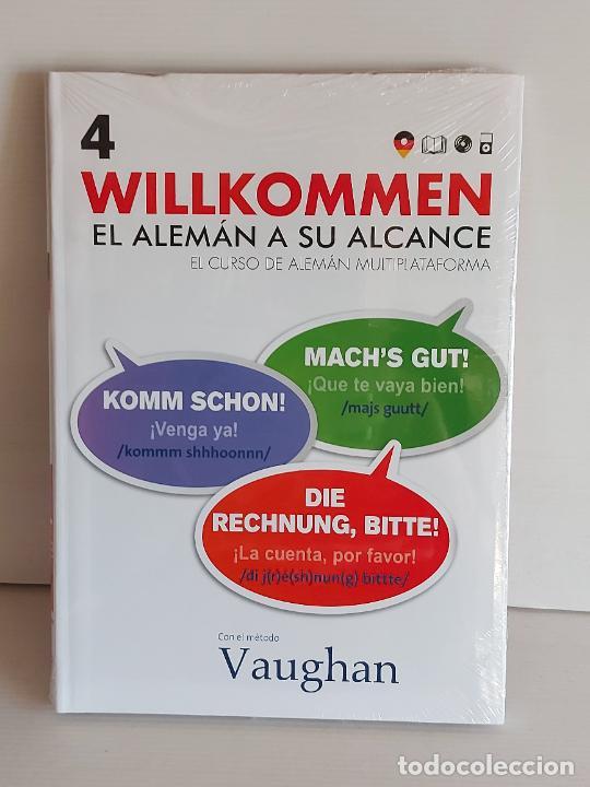 VAUGHAN / WILLKOMMEN - EL ALEMÁN A SU ALCANCE / 4 / LIBRO + CD / PRECINTADO. (Libros Nuevos - Idiomas - Alemán )