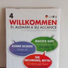 Libros: VAUGHAN / WILLKOMMEN - EL ALEMÁN A SU ALCANCE / 4 / LIBRO + CD / PRECINTADO.. Lote 228560196