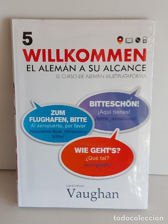 VAUGHAN / WILLKOMMEN - EL ALEMÁN A SU ALCANCE / 5 / LIBRO + CD / PRECINTADO. (Libros Nuevos - Idiomas - Alemán )