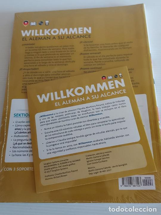 Libros: VAUGHAN / WILLKOMMEN - EL ALEMÁN A SU ALCANCE / 6 / LIBRO + CD / PRECINTADO. - Foto 2 - 228560520