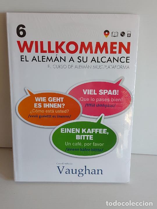 VAUGHAN / WILLKOMMEN - EL ALEMÁN A SU ALCANCE / 6 / LIBRO + CD / PRECINTADO. (Libros Nuevos - Idiomas - Alemán )