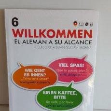 Libros: VAUGHAN / WILLKOMMEN - EL ALEMÁN A SU ALCANCE / 6 / LIBRO + CD / PRECINTADO.. Lote 228560520