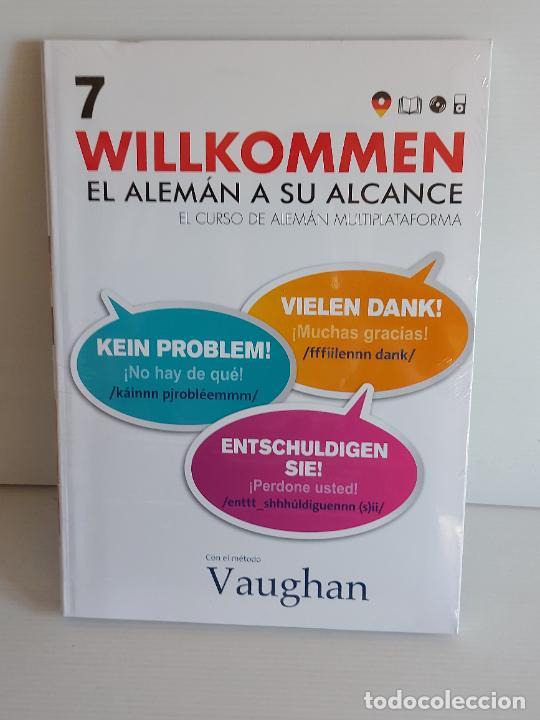 VAUGHAN / WILLKOMMEN - EL ALEMÁN A SU ALCANCE / 7 / LIBRO + CD / PRECINTADO. (Libros Nuevos - Idiomas - Alemán )