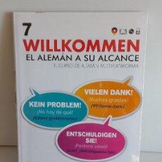 Libros: VAUGHAN / WILLKOMMEN - EL ALEMÁN A SU ALCANCE / 7 / LIBRO + CD / PRECINTADO.. Lote 228561422
