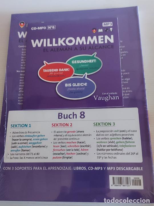 Libros: VAUGHAN / WILLKOMMEN - EL ALEMÁN A SU ALCANCE / 8 / LIBRO + CD / PRECINTADO. - Foto 2 - 228561530