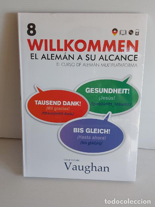 VAUGHAN / WILLKOMMEN - EL ALEMÁN A SU ALCANCE / 8 / LIBRO + CD / PRECINTADO. (Libros Nuevos - Idiomas - Alemán )