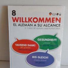 Libros: VAUGHAN / WILLKOMMEN - EL ALEMÁN A SU ALCANCE / 8 / LIBRO + CD / PRECINTADO.. Lote 228561530