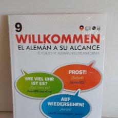 Libros: VAUGHAN / WILLKOMMEN - EL ALEMÁN A SU ALCANCE / 9 / LIBRO + CD / PRECINTADO.. Lote 228561730