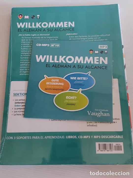Libros: VAUGHAN / WILLKOMMEN - EL ALEMÁN A SU ALCANCE / 10 / LIBRO + CD / PRECINTADO. - Foto 2 - 228561795