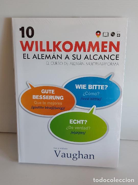 VAUGHAN / WILLKOMMEN - EL ALEMÁN A SU ALCANCE / 10 / LIBRO + CD / PRECINTADO. (Libros Nuevos - Idiomas - Alemán )