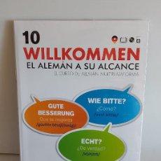 Libros: VAUGHAN / WILLKOMMEN - EL ALEMÁN A SU ALCANCE / 10 / LIBRO + CD / PRECINTADO.. Lote 228561795