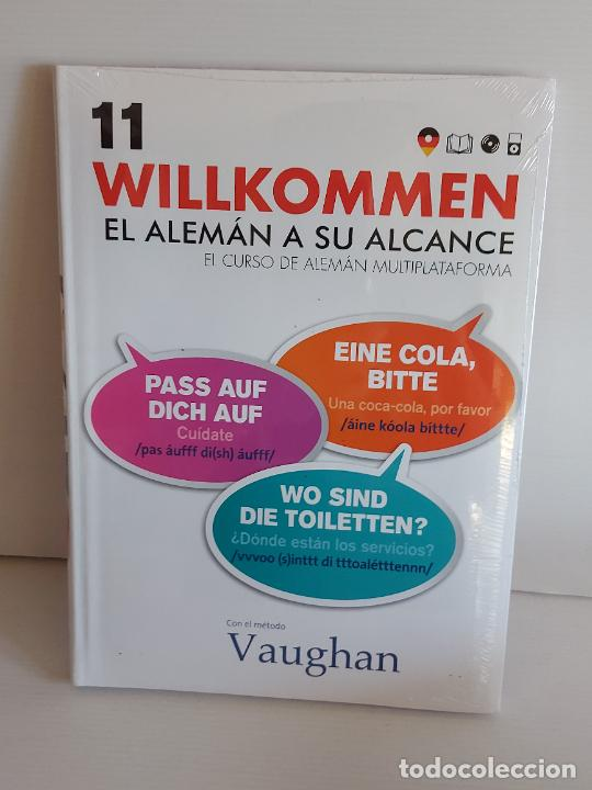 VAUGHAN / WILLKOMMEN - EL ALEMÁN A SU ALCANCE / 11 / LIBRO + CD / PRECINTADO. (Libros Nuevos - Idiomas - Alemán )