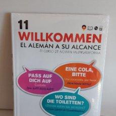 Libros: VAUGHAN / WILLKOMMEN - EL ALEMÁN A SU ALCANCE / 11 / LIBRO + CD / PRECINTADO.. Lote 228561870