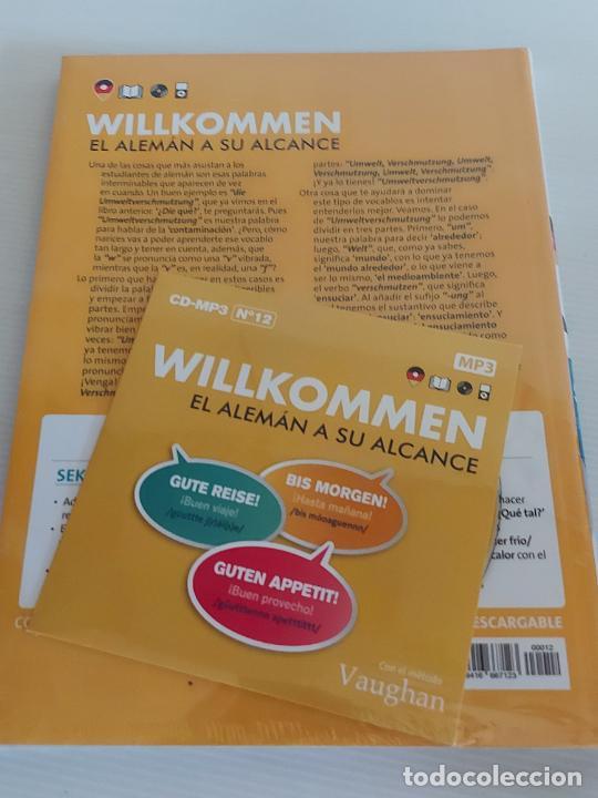 Libros: VAUGHAN / WILLKOMMEN - EL ALEMÁN A SU ALCANCE / 12 / LIBRO + CD / PRECINTADO. - Foto 2 - 228562225