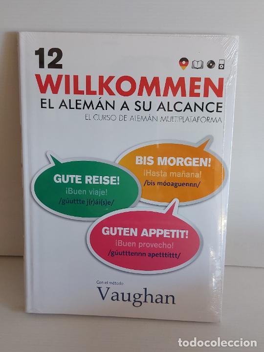 VAUGHAN / WILLKOMMEN - EL ALEMÁN A SU ALCANCE / 12 / LIBRO + CD / PRECINTADO. (Libros Nuevos - Idiomas - Alemán )