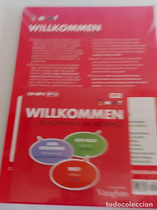 Libros: VAUGHAN / WILLKOMMEN - EL ALEMÁN A SU ALCANCE / 13 / LIBRO + CD / PRECINTADO. - Foto 2 - 228562340