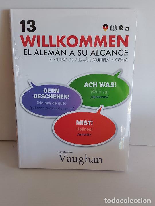 VAUGHAN / WILLKOMMEN - EL ALEMÁN A SU ALCANCE / 13 / LIBRO + CD / PRECINTADO. (Libros Nuevos - Idiomas - Alemán )