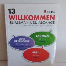 Libros: VAUGHAN / WILLKOMMEN - EL ALEMÁN A SU ALCANCE / 13 / LIBRO + CD / PRECINTADO.. Lote 228562340